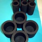 Тигли для плавки драгметаллов из графита ГСП