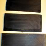 Пластины из графита ГСП разной зернистости