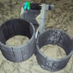 Цельный нагреватель из УУКМ для установок выращивания монокристаллов кремния